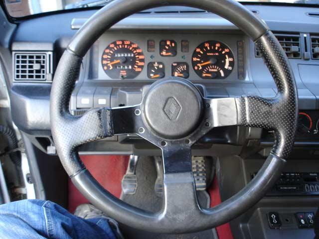 volant super 5 gt turbo